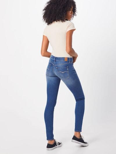 Jeans 'Luz' REPLAY pe denim albastru: Privire spate