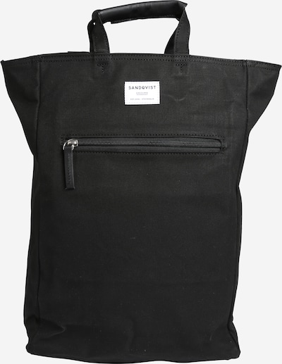 SANDQVIST Rucksack 'Tony' in schwarz, Produktansicht
