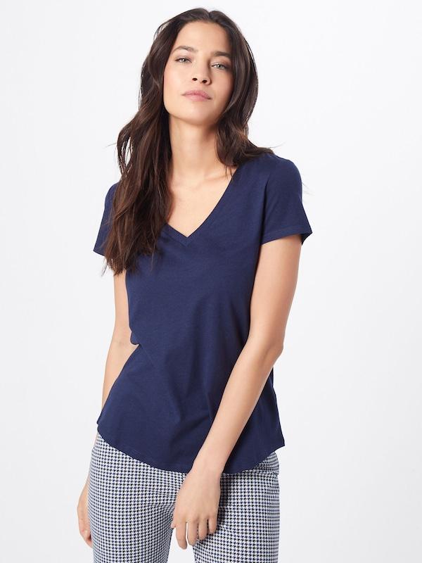 Bleu Marine En T Esprit shirt Nn80mw