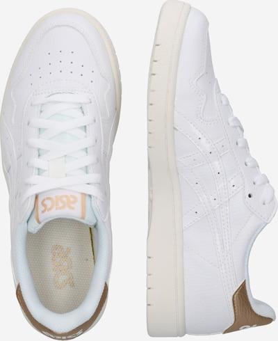 ASICS SportStyle Sneakers laag 'Japan S' in de kleur Goud / Wit: Zijaanzicht
