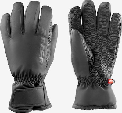 Zanier Skihandschuhe in schwarz / weiß, Produktansicht