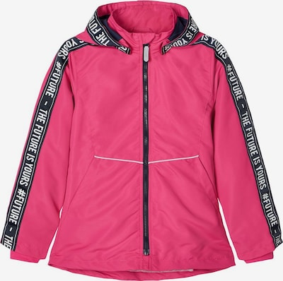 NAME IT Jacke in pink / schwarz / weiß, Produktansicht