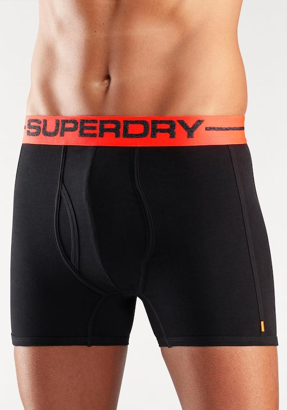Short Boxer Orange Sport Superdry 2 Schwarz Stck O587qWRFnv