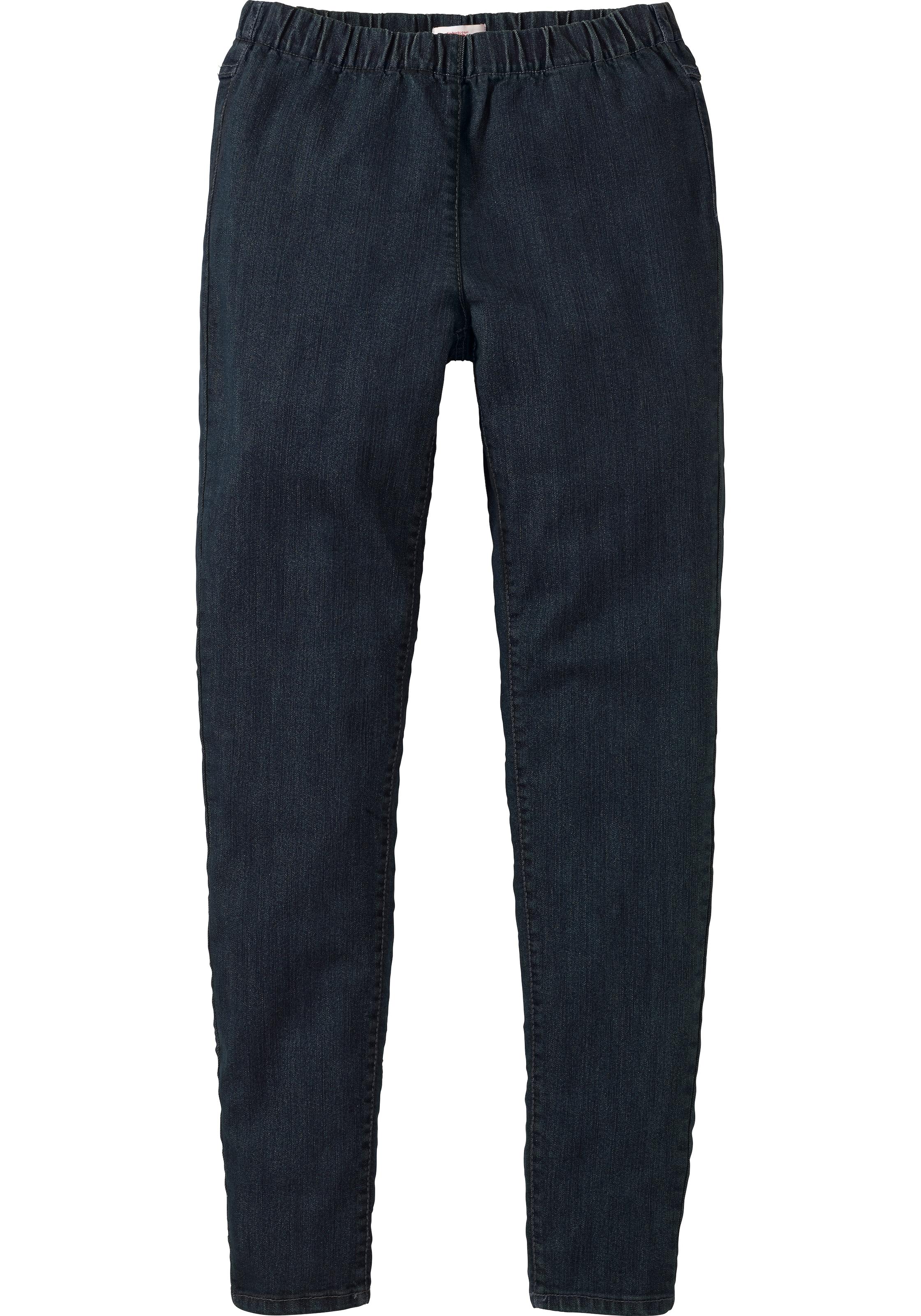 sheego denim Jeansleggings mit leichter Waschung Freies Verschiffen 100% Original P1YgajKPSd