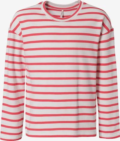 KIDS ONLY Langarmshirt  'RAIN' in rot / weiß, Produktansicht