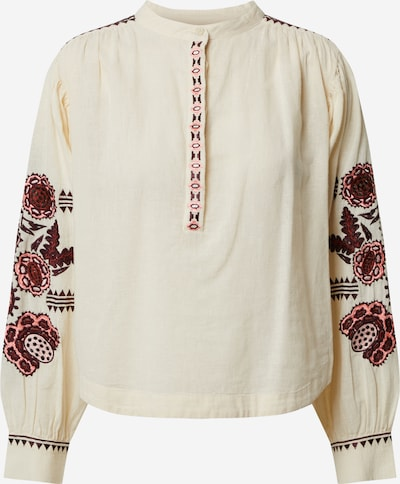 SCOTCH & SODA Blouse in mixed colours / white, Item view