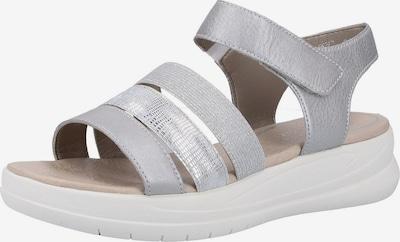 REMONTE Sandale in silber, Produktansicht