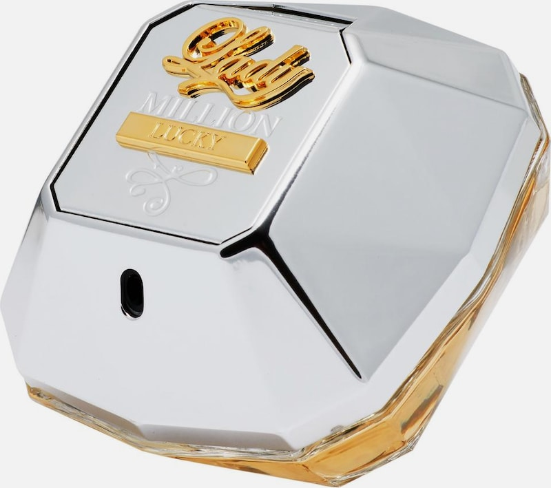 paco rabanne Parfum 'Lady Million Lucky' in goldgelb / silber, Produktansicht