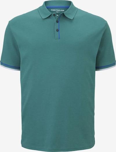 TOM TAILOR Men Plus Poloshirt in petrol / jade, Produktansicht