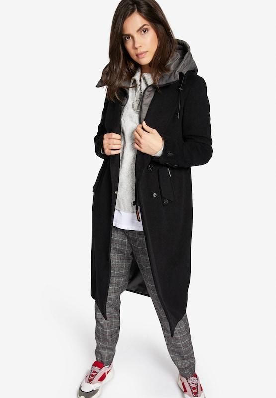 Khujo Mantel Mantel Mantel 'SANURA' in rauchgrau   schwarz  Neue Kleidung in dieser Saison d9570b