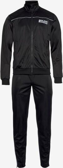 BRUNO BANANI Trainingsanzug in schwarz / weiß, Produktansicht