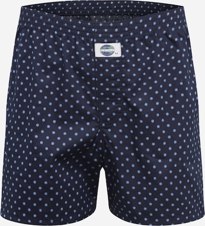 D.E.A.L International Badehose in navy / hellblau, Produktansicht