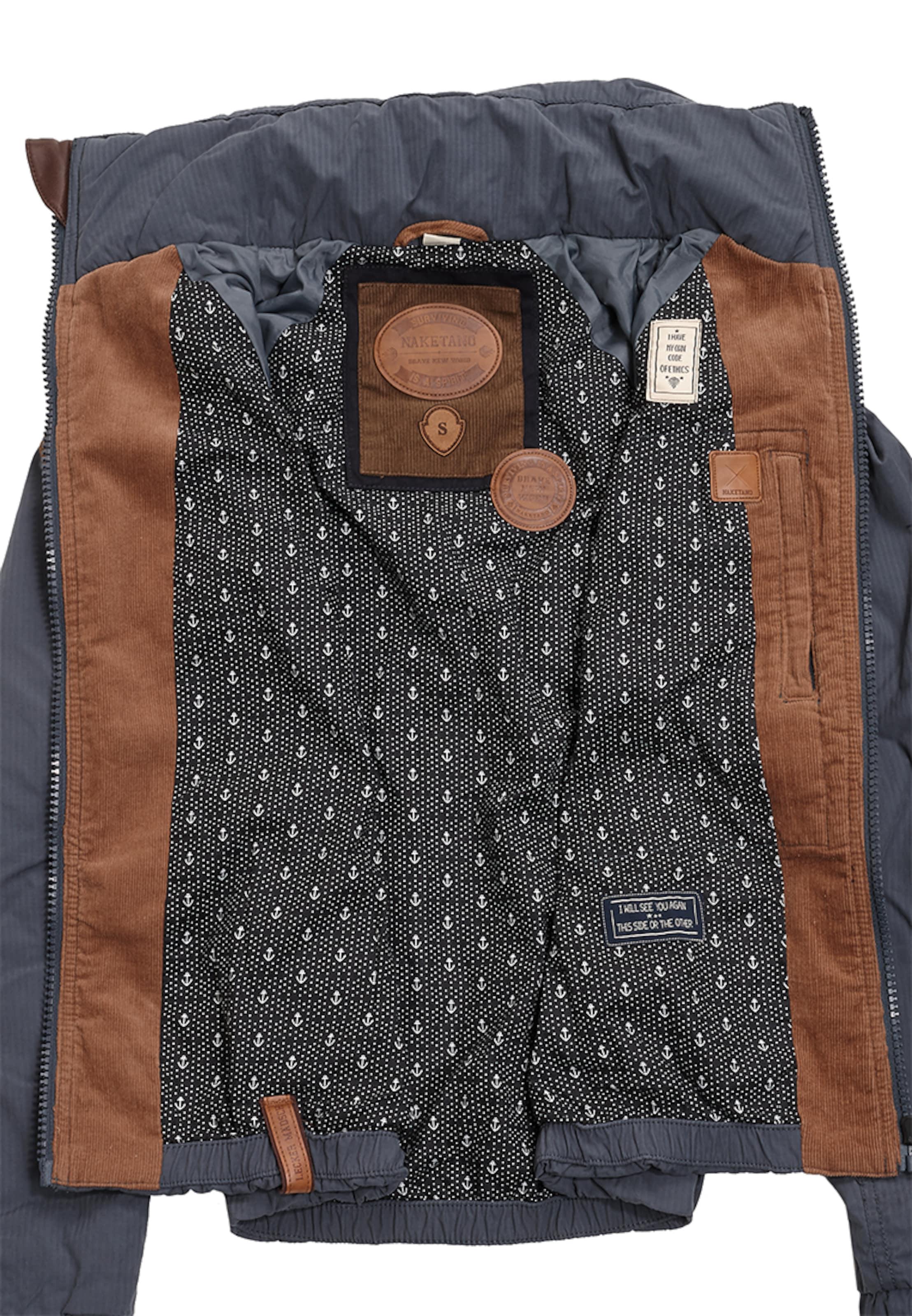 naketano Jacket 'Klatschen Und So' Mode-Stil Zu Verkaufen Gute Qualität Unter 50 Dollar Billiger Preis mdQzIxIfJu