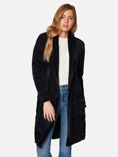 Mavi Strickjacke in schwarz, Modelansicht