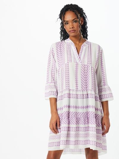Hailys Kleid 'Lola' in lavendel / weiß, Modelansicht