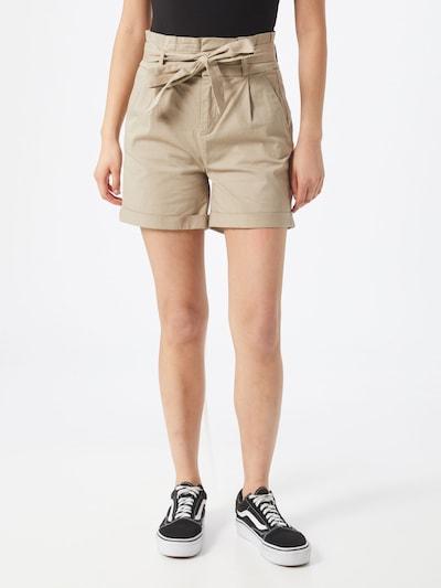 VERO MODA Pleat-front trousers 'Eva' in beige, View model