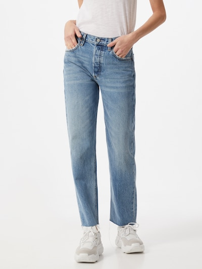 Boyish Jeans in blue denim, Modelansicht