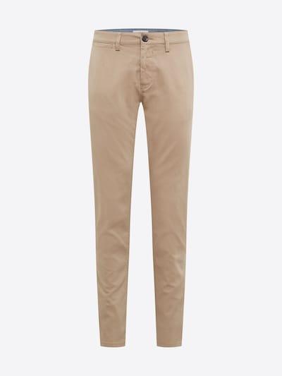 Chino stiliaus kelnės iš TOM TAILOR , spalva - gelsvai pilka spalva: Vaizdas iš priekio