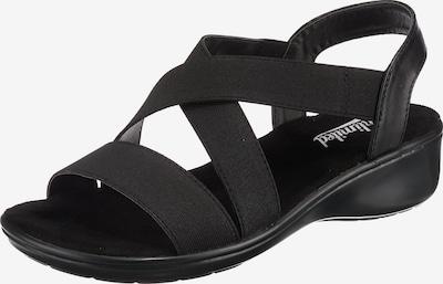 Freyling Sandaletten in schwarz, Produktansicht