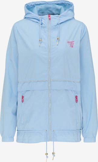 MYMO Jacke in hellblau / dunkelpink, Produktansicht