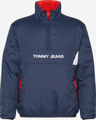 Tommy Jeans Tussenjas in de kleur Navy / Rood / Wit, Productweergave