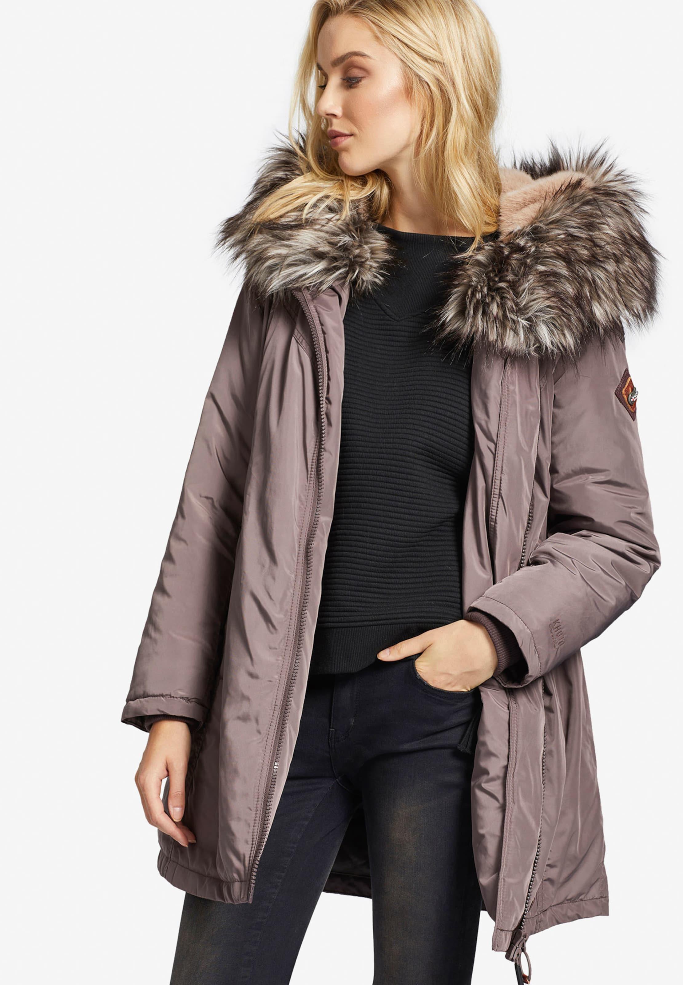 Khujo Veste En D'hiver 'adelia' Pastel Violet FK1clJ