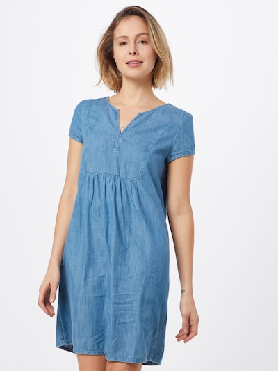 ESPRIT Kleid in blue denim / hellblau, Modelansicht