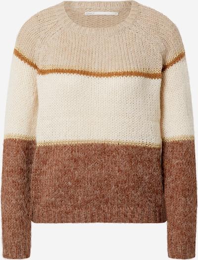 ONLY Pullover 'Terrie' in beige / gold, Produktansicht
