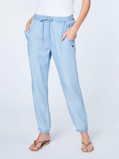 Sportinės kelnės iš CHIEMSEE , spalva - mėlyna / šviesiai mėlyna, Modelio vaizdas