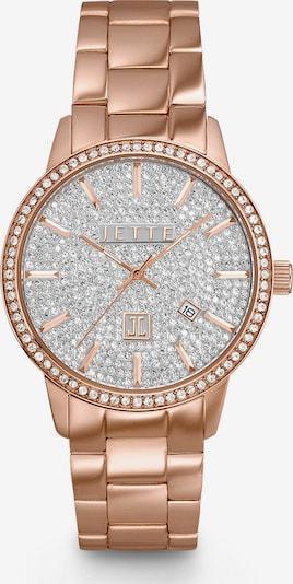 JETTE Uhr in rosegold, Produktansicht
