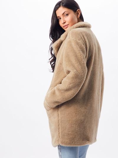Rudeninis-žieminis paltas 'Sherpa' iš Urban Classics , spalva - smėlio: Vaizdas iš galinės pusės