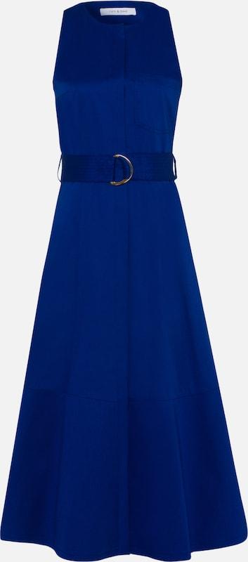 IVY & OAK Kleid 'Midi Dress' in blau  Große Preissenkung