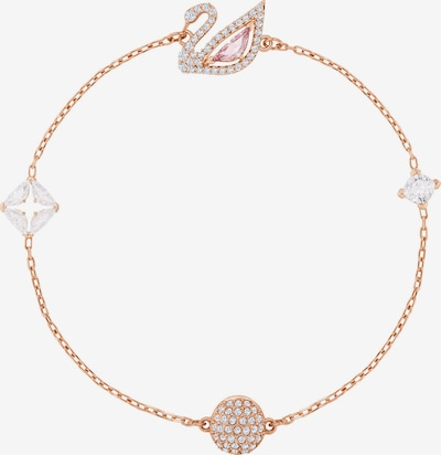Swarovski Bracelet in Rose gold / Pink / Transparent, Item view