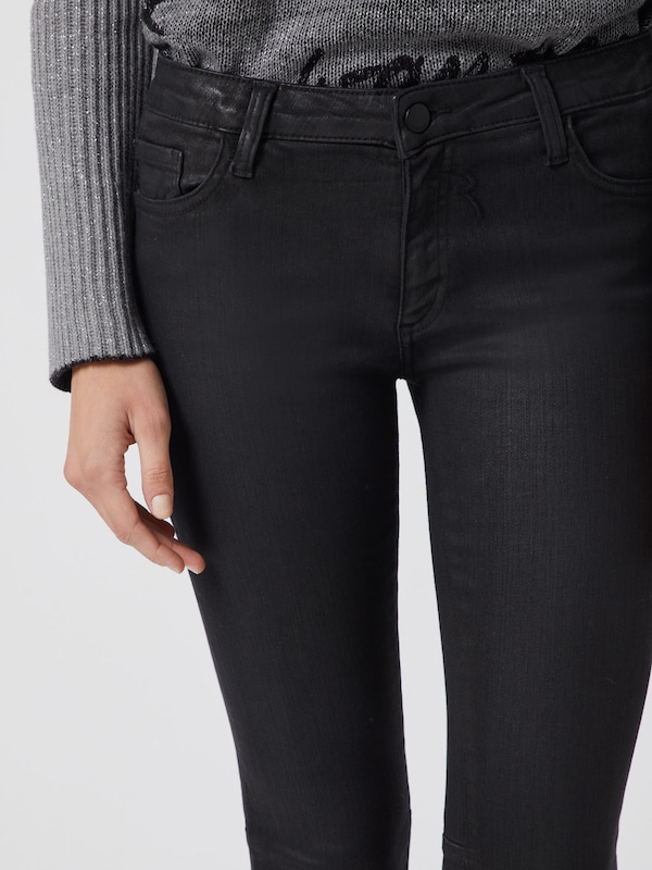 Rich & Royal Coated Jeans in schwarz   ABOUT YOU