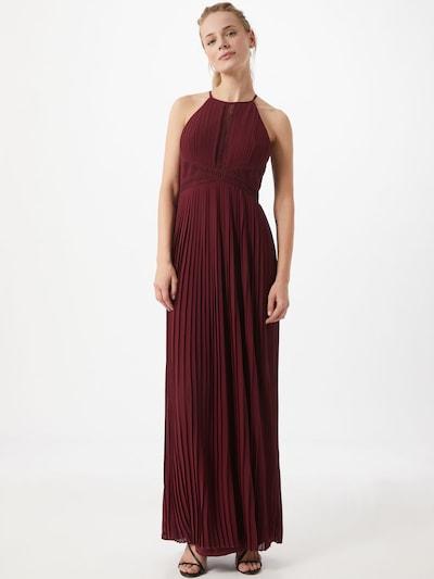 TFNC Kleid 'TOULA' in burgunder, Modelansicht