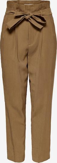 ONLY Pantalon à pince en marron, Vue avec produit