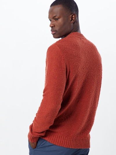 Megztinis iš JACK & JONES , spalva - raudona: Vaizdas iš galinės pusės