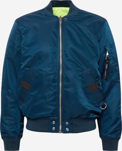 DIESEL Prehodna jakna 'J-Ross-Rev' | modra barva, Prikaz izdelka