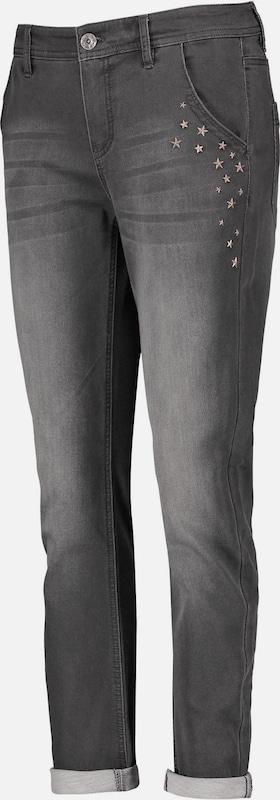 TAIFUN Jeans in grau denim  Freizeit, schlank, schlank