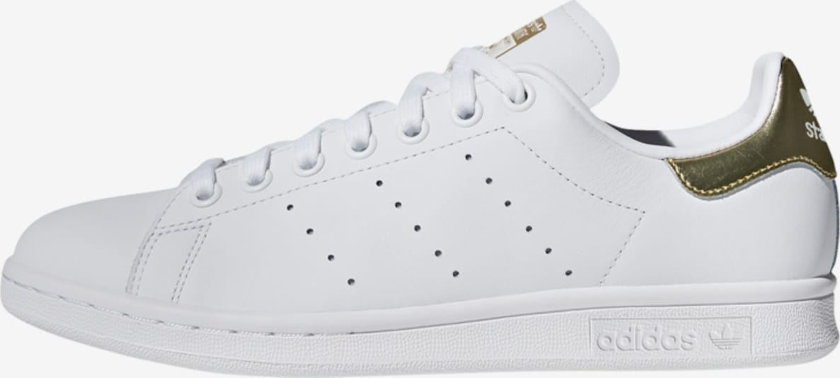ADIDAS ORIGINALS Baskets basses 'Stan Smith' en or / blanc, Vue avec produit