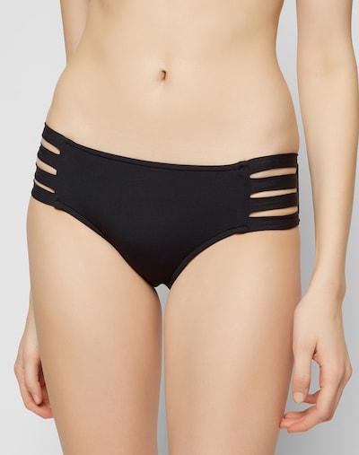 Seafolly Bikinihose in schwarz, Modelansicht