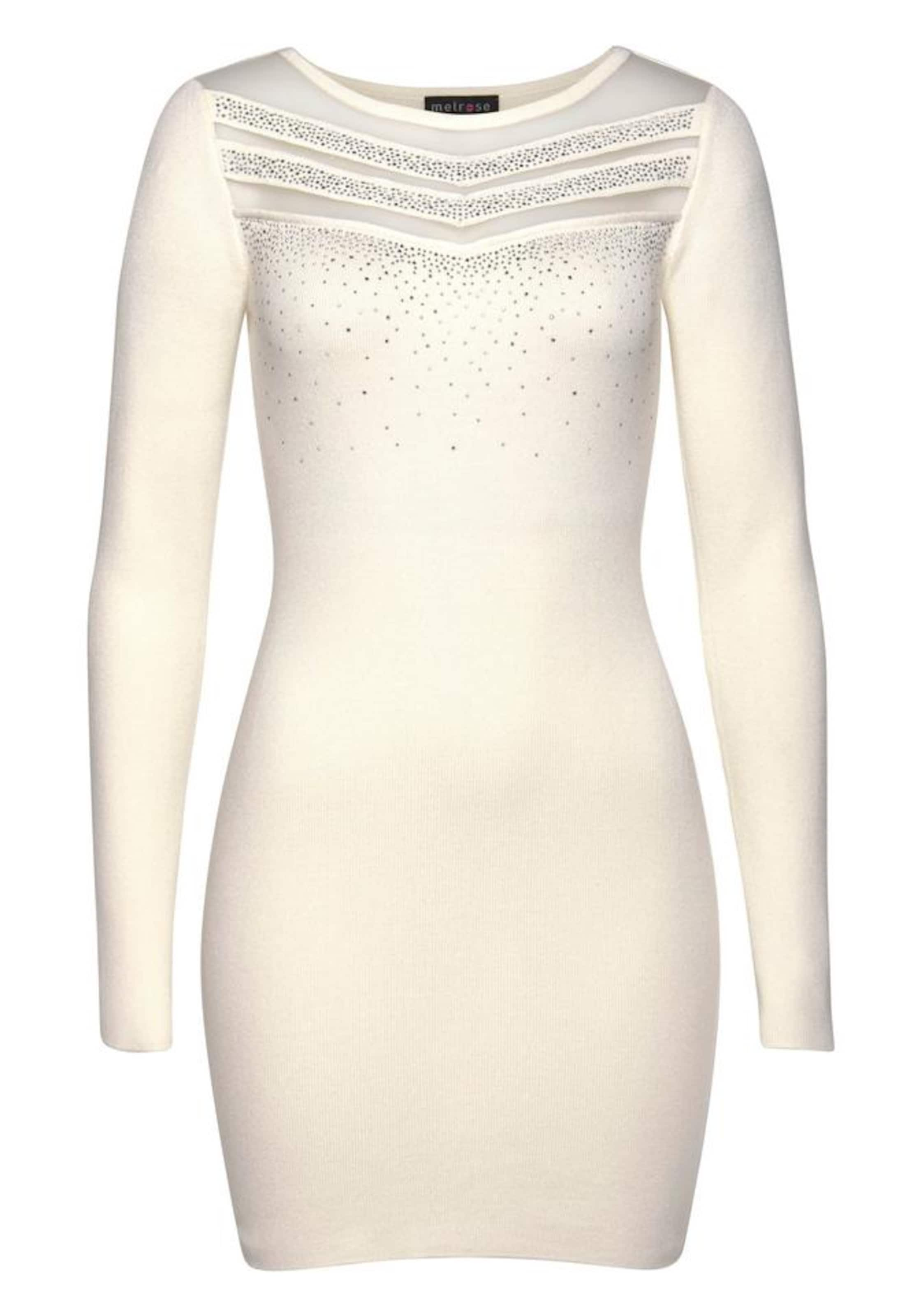 Kleid Melrose Melrose In In SilberOffwhite Kleid htQdsCr