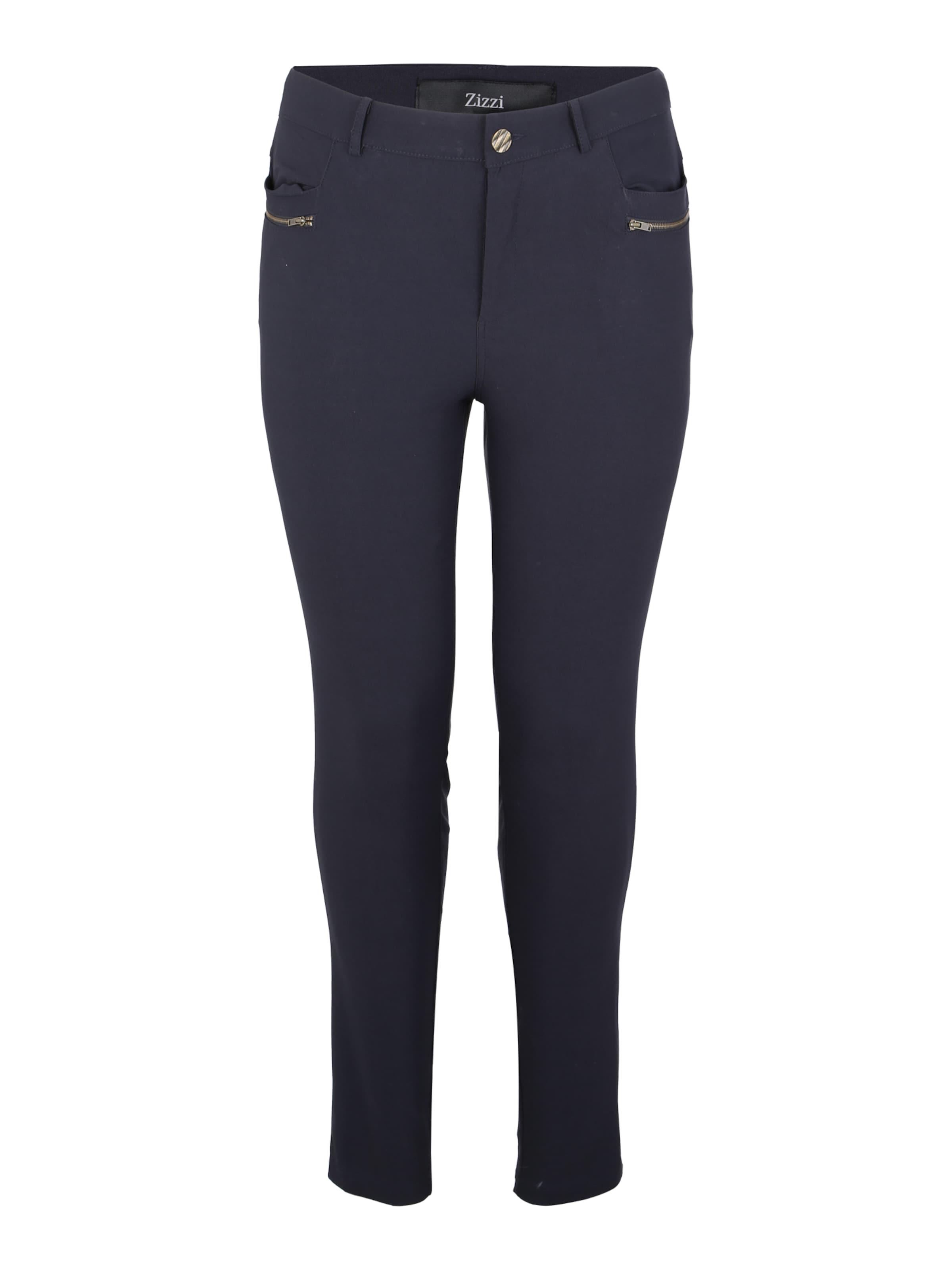 Zizzi Foncé Bleu Zizzi Pantalon En 345ARjL