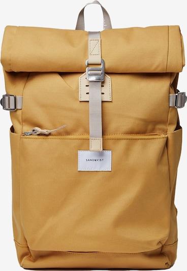 SANDQVIST Rucksack 'Ilon' in gelb, Produktansicht