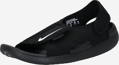 Nike Sportswear Chaussures ouvertes 'SUNRAY ADJUST 5 V2 (GS/PS)' en noir / blanc, Vue avec produit