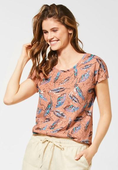 CECIL T-Shirt in orange: Frontalansicht