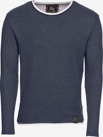 Key Largo Pullover 'SARASOTA' in dunkelblau, Produktansicht