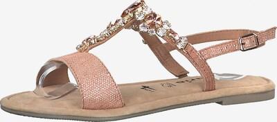 TAMARIS Sandale in pink: Frontalansicht