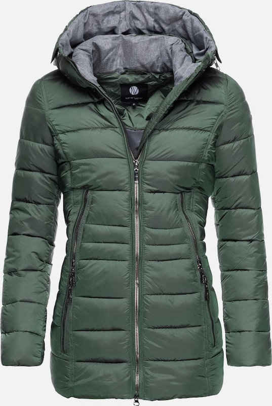 Peak Time Winterjacke 'L60112' in smaragd, Produktansicht