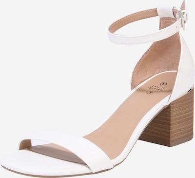 Sandalo con cinturino 'MAKENZIE' CALL IT SPRING di colore bianco, Visualizzazione prodotti
